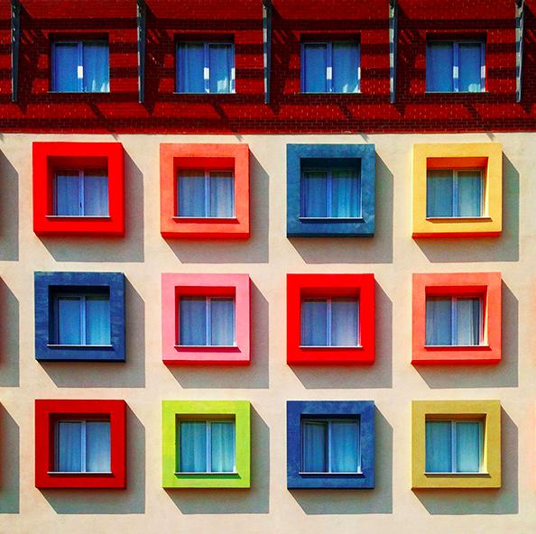 Colorful Minimalist Design: Yener Torun