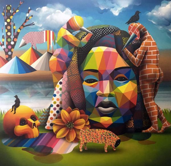 Galeria Pinturas De Arte: Okudart